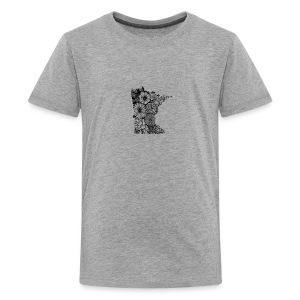 MINNESOTA MN WILDFLOWER - Kids' Premium T-Shirt