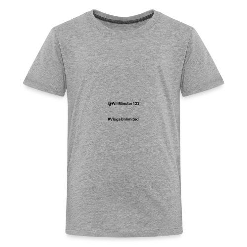 VlogsUnlimited Tags Design - Kids' Premium T-Shirt