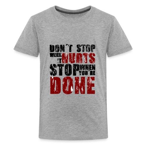 Gym motivation - Kids' Premium T-Shirt