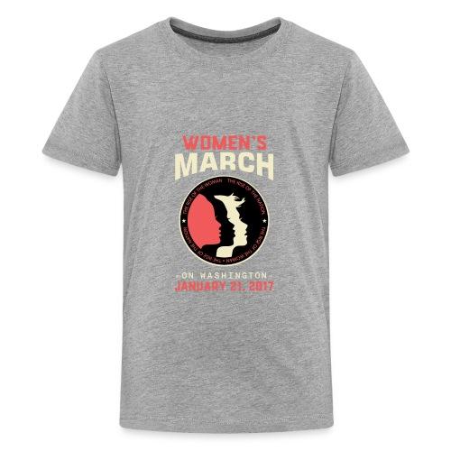Women's March Washington - Kids' Premium T-Shirt
