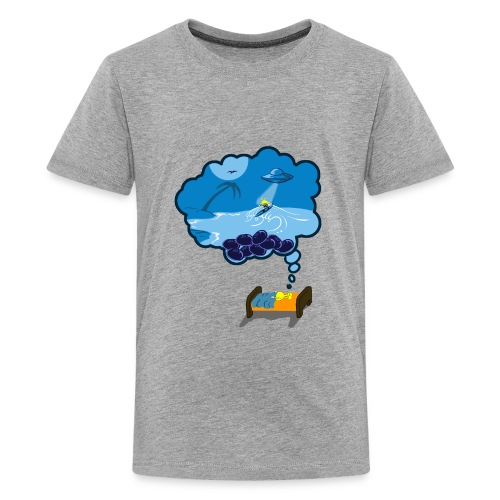 Strainge - Blue Dream Marijuana Strain shirt - Kids' Premium T-Shirt
