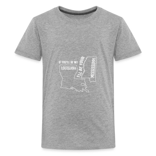 Louisiana_Mississippi_Design - Kids' Premium T-Shirt