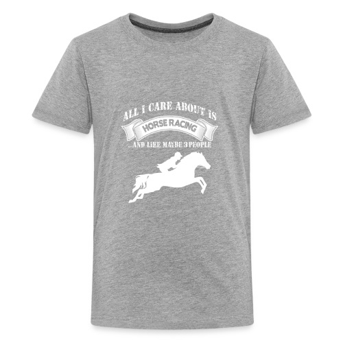 Horse Racing - Kids' Premium T-Shirt