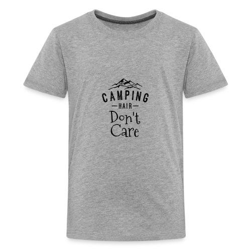 Camping Hair Don't Care - Kids' Premium T-Shirt