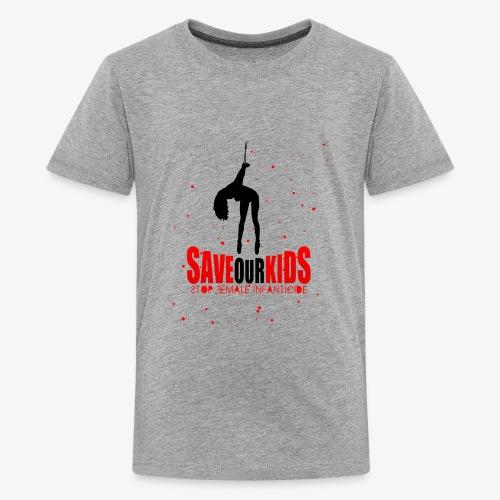 Saveourkids - Kids' Premium T-Shirt