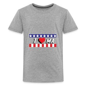 I love Maine, MA - Kids' Premium T-Shirt