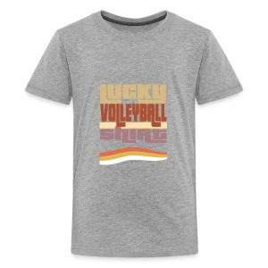 Lucky valleyball tshirt - Kids' Premium T-Shirt