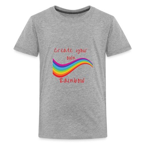 create your own rainbow - Kids' Premium T-Shirt