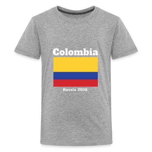 Colombia Football Team Flag design - Kids' Premium T-Shirt