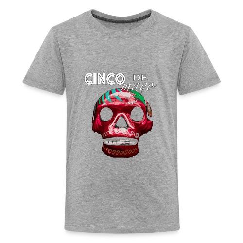 Cinco de Mayo Skull - Kids' Premium T-Shirt