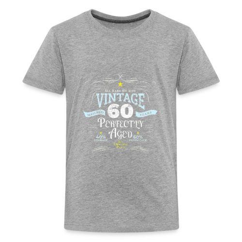 Funny Vintage 60th Birthday Gift - Kids' Premium T-Shirt