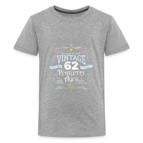 Funny Vintage 62nd Birthday Gift - Kids' Premium T-Shirt