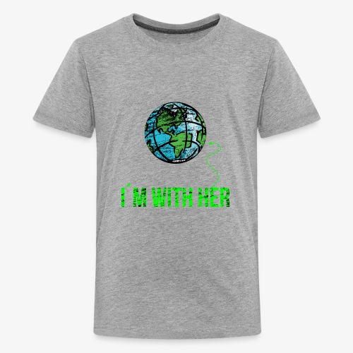 IM WITH HER - CONT - Kids' Premium T-Shirt