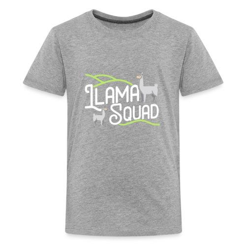 Cute Llama Shirt Llama Squad Tee - Kids' Premium T-Shirt