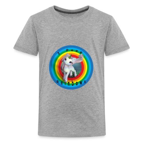 I Poop Rainbows - Kids' Premium T-Shirt