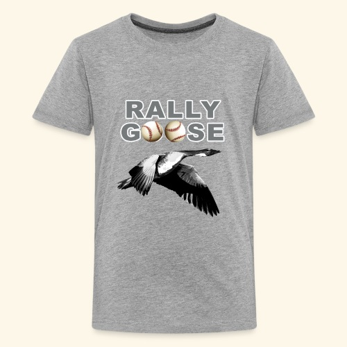 Detroit Rally Goose Baseball Lucky Charm Design - Kids' Premium T-Shirt
