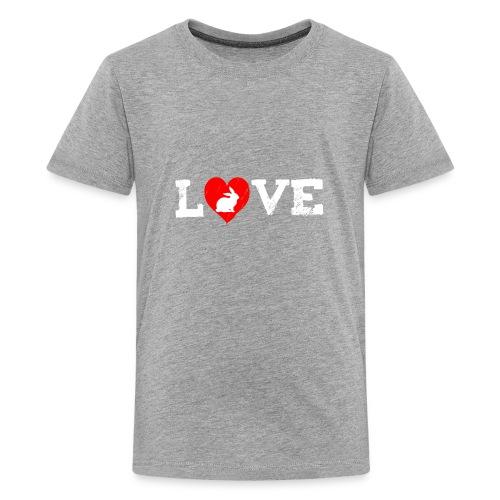 I Love my Rabbit I Heart my Bunny Easter - Kids' Premium T-Shirt