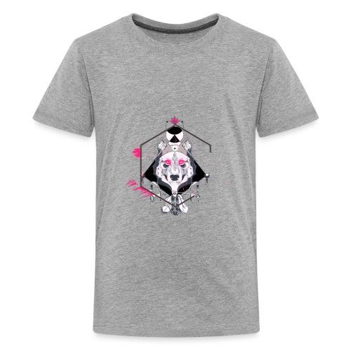 Wolf face - Kids' Premium T-Shirt