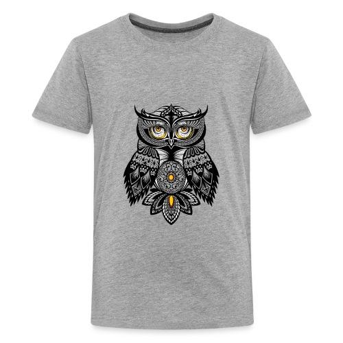 OWL Bohemian Design T-shirt BUHO FUNCLE - Kids' Premium T-Shirt