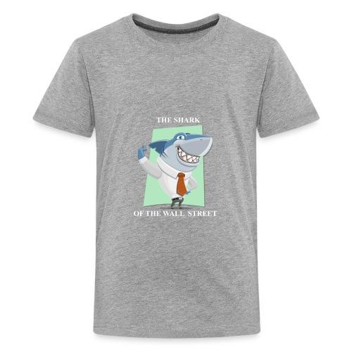 wall street shark - Kids' Premium T-Shirt