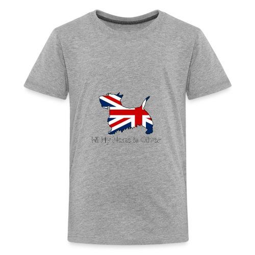 British Scottie - Kids' Premium T-Shirt