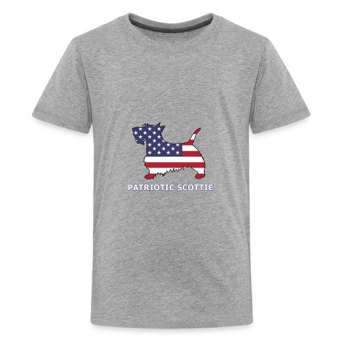 American Scottie - Kids' Premium T-Shirt