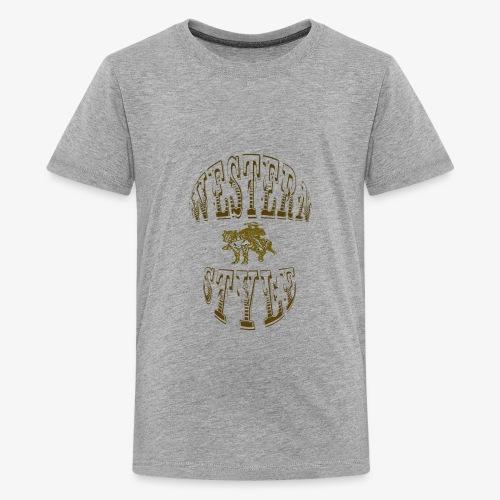 WESTERNSTYLE - Kids' Premium T-Shirt