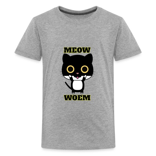 MEOW CAT T-SHIRT - Kids' Premium T-Shirt
