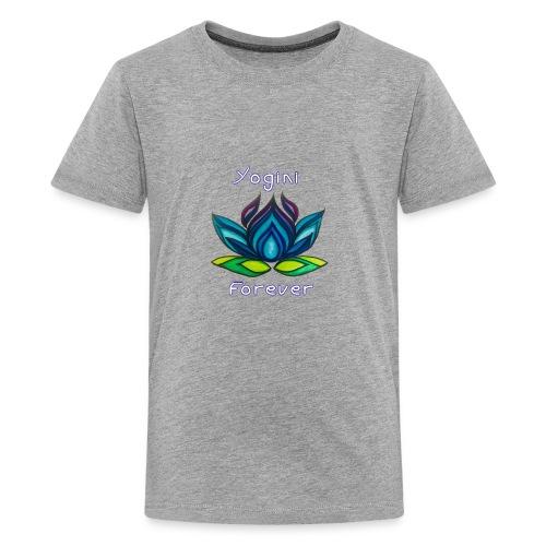 BLY Yoga Studio Logo - Kids' Premium T-Shirt