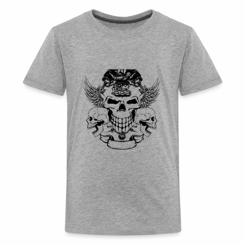 skull design - Kids' Premium T-Shirt