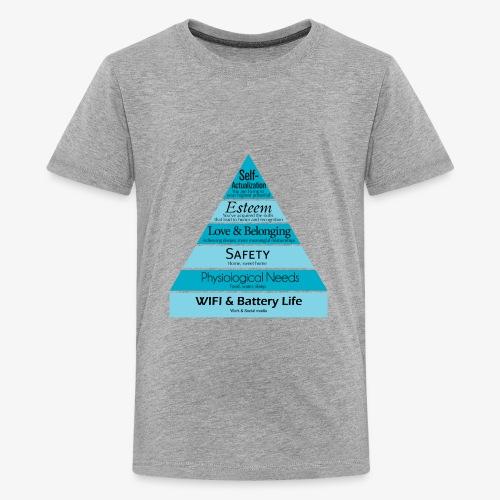 Maslow's Hierarchy - Kids' Premium T-Shirt