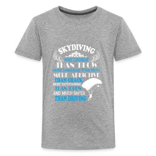 Something about SKYDIVING ! - Kids' Premium T-Shirt