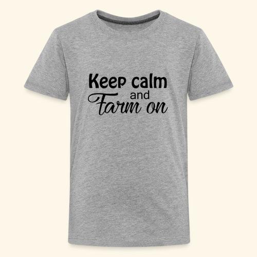 Keep calm design - Kids' Premium T-Shirt
