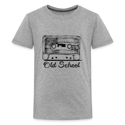 old school breakdancing K7 - Kids' Premium T-Shirt