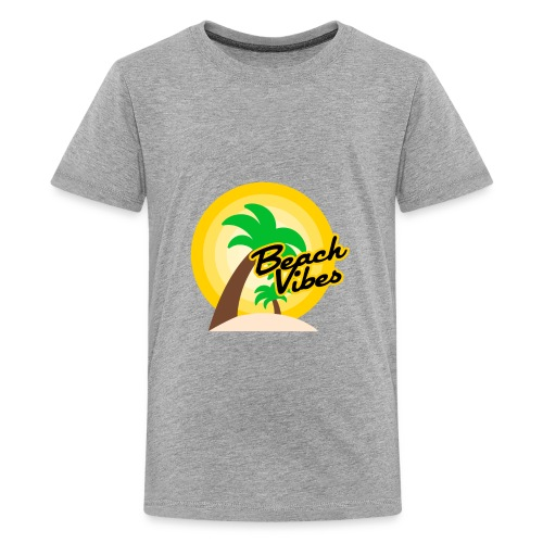 Beach vibes t-shirt summer - Kids' Premium T-Shirt