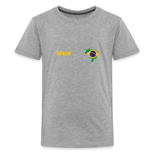 Brazil world cup T-Shirt - Kids' Premium T-Shirt