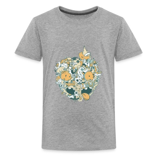 EARTH - Global Warming Effects - Kids' Premium T-Shirt