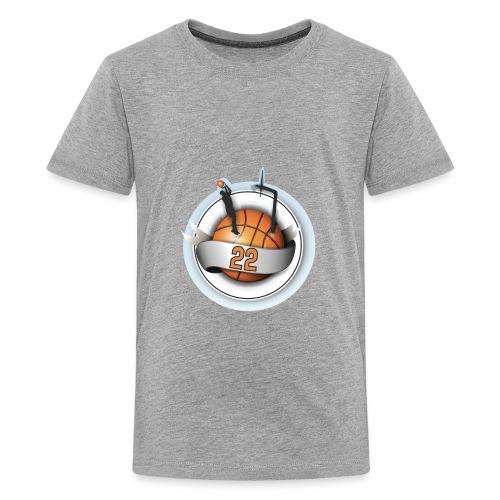 basket ball 22 - Kids' Premium T-Shirt