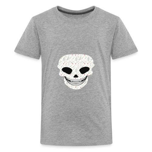 Skull Flowers Cute Death - Kids' Premium T-Shirt