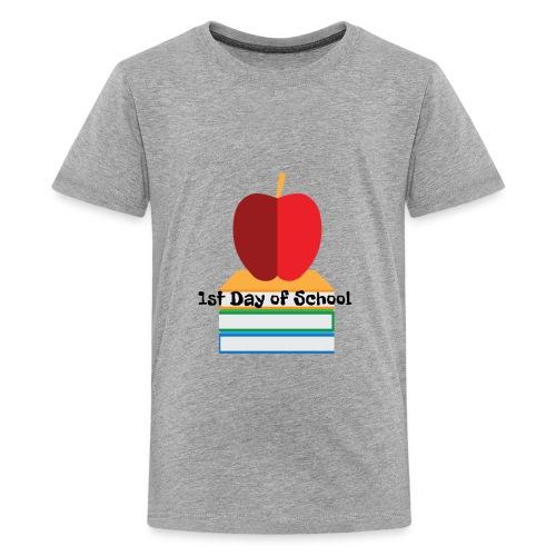 1st day of school - Kids' Premium T-Shirt