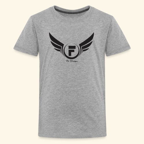 Flo's Limited Edition brand name and logo - Kids' Premium T-Shirt