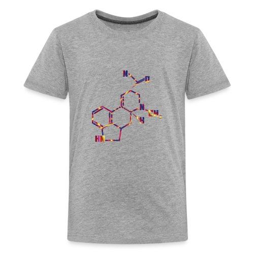 LSD Molecule for Trippy Science Nerds - Kids' Premium T-Shirt