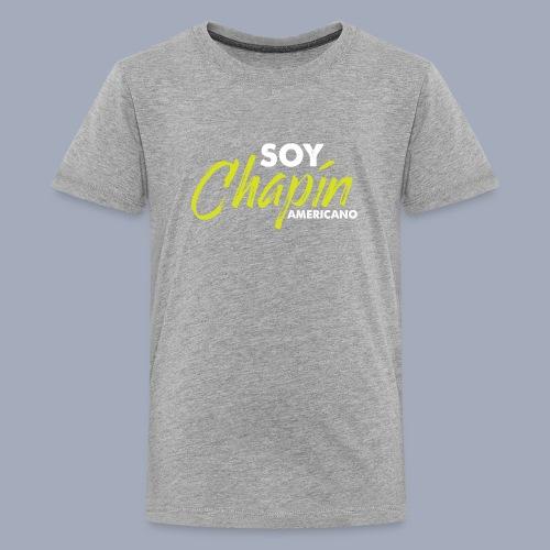 Soy Chapín Americano - green - Kids' Premium T-Shirt