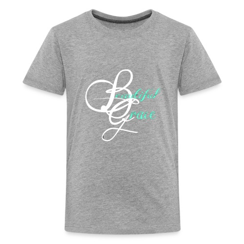 Beautiful Grace Logo - Kids' Premium T-Shirt