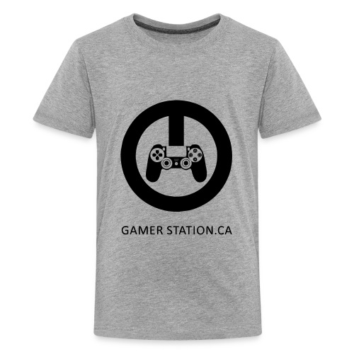 GamerStation.ca logo - Kids' Premium T-Shirt