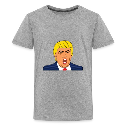 Donald Trump Cartoon Pandemonium - Kids' Premium T-Shirt