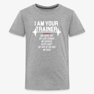 Personal trainer design funny tshirt - Kids' Premium T-Shirt