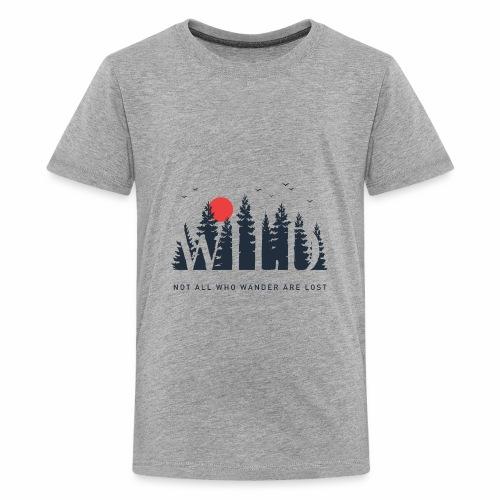Wild - Wanderlust collection - Kids' Premium T-Shirt