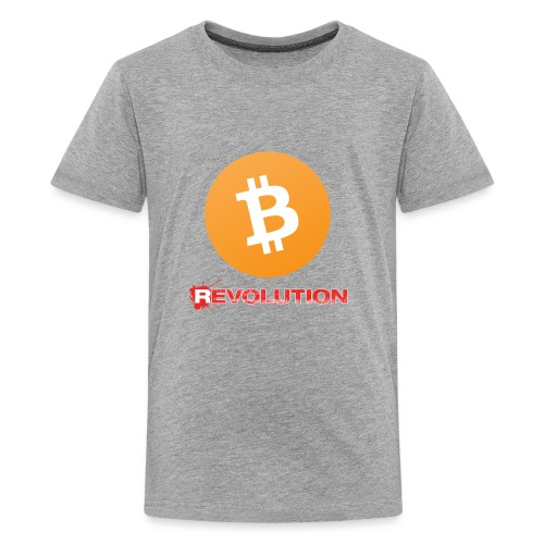 Bitcoin Revolution - Kids' Premium T-Shirt