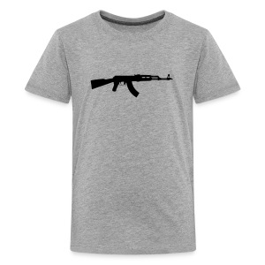 ak 47 one gun - Kids' Premium T-Shirt